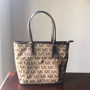 Michael Kors Monogram Tote Bag